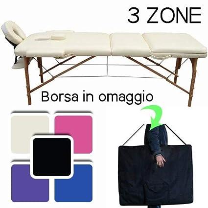 Lettino Massaggio Professionale 3 Zone Lettino Estetista In Legno