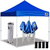 Best Easy Up Canopies - Eurmax 10'x10' Ez Pop Up Canopy Tent Commercial Review
