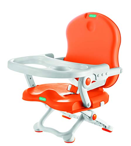 Cadeira De Alimentação, Laranja/Branco, Bebeliê - CAP-02, Mk Sul, Laranja/Branco
