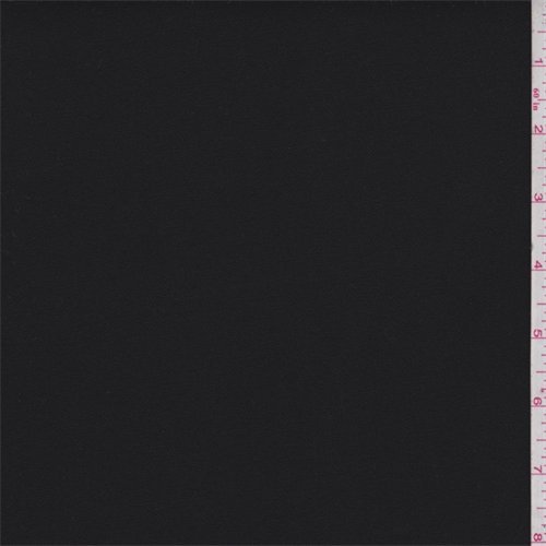 Jet Black Cotton Canvas, Fabric By the Yard Wholesale Cotton Fabric