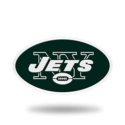 Rico Industries NFL New York Jets Team Color Auto Emblem 3D Sticker