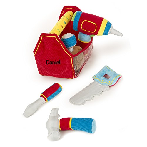 Melissa & Doug Personalized Toolbox Fill & Spill