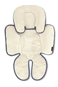 Britax Head and Body Support Pillow for Car Seat and Stroller, Iron/Grey