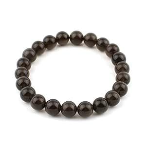 Amazon.com: O-stone Ice Obsidian Bracelet 8mm Meditation