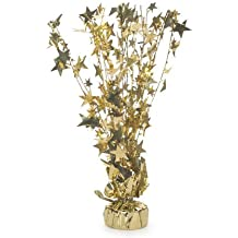 Star Centerpiece: Gold, 15 Inches For Table Or Buffet Decor, 10 Pcs