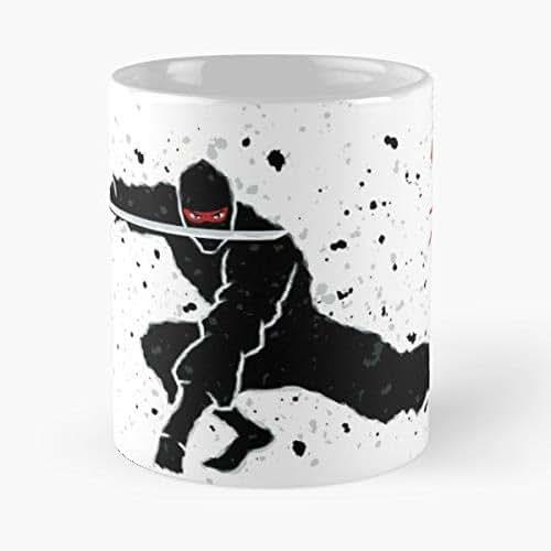Amazon.com: Ninja Assassin Warrior - Ceramic Mugs: Handmade
