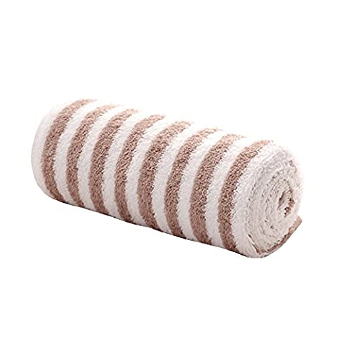 Zhenxinmei Cotton Towels Fashionable Japanese Style Zebra stripes striped Facecloth Simple Smooth Fluffy Soft Organic Eco-Friendly Washcloth use for Bath,Sports,Outdoors,Kitchen,13