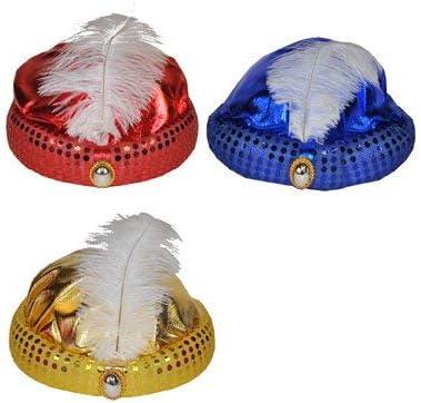 1pc del Partido De Cosplay del Sombrero del Sombrero Aladdin Accesorios Stage Performance para Ni/ños Y Adultos De Cosplay del Partido De La Mascarada De Oro