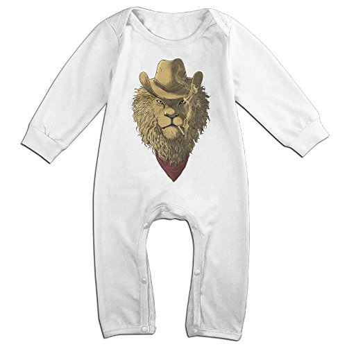Raymond Wild West Long Sleeve Bodysuit Outfits White 6 M (Wild Wild West Outfit)