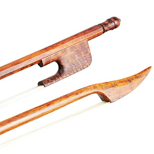MagiDeal Baroque Style Viola Bow Snakewood White Horsetail Bow for 4/4 Viola Parts Accessories by non-brand (Image #3)