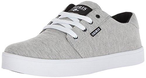 Osiris Men's Mesa Skate Shoe, Grey/Heather/Jersey, 5 M US