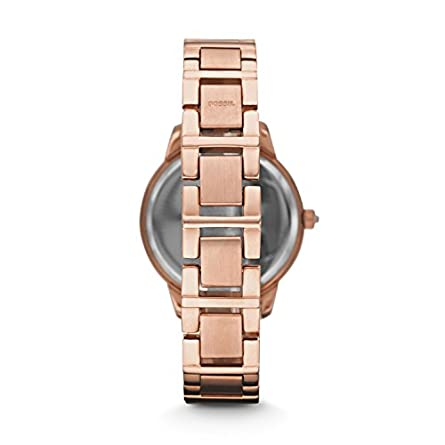 Fossil Women s Jesse Stainless Steel Glitz Dress Quartz Watch