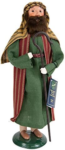Byers Choice Shepherd Man Caroler Figurine 751 from The Nativity Collection