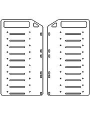 Kaxofang DIY Transparent Hard Disk Extension Rack-3.5Inch Desktop Computer External Hard Drives HDD Hard Disk, Ten Floors