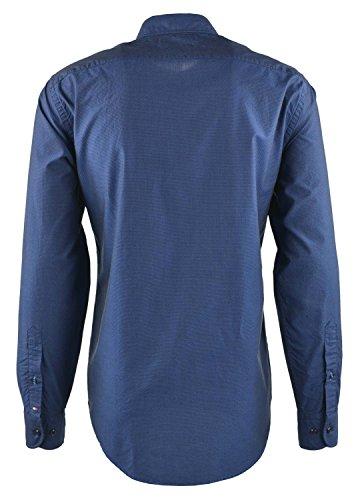 Camisa Tommy Hilfiger Dotted Marino Azul