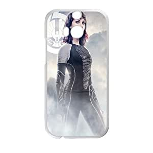 The Hunger Games Catching Fire Johanna HTC One M8 Cell Phone Case White phone component RT_202563