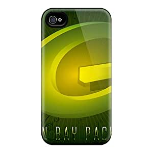 SherriFakhry Iphone 4/4s Best Hard Phone Covers Custom Vivid Green Bay Packers Pictures [kYb9175GJJX]