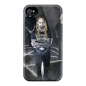 Durable Hard Phone Cases For Iphone 4/4s With Custom High-definition Coal Chamber Band Pattern KevinCormack