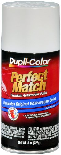 White Candy Finish (Dupli-Color EBVW20417 Candy White Volkswagen Perfect Match Automotive Paint - 8 oz. Aerosol)