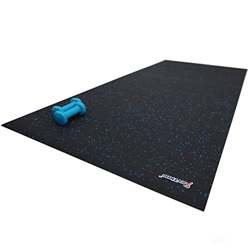 "Good Workout Mat: RevTime Treadmill Mat 6.5'x3' (78""x36"")Heavy Duty Fitness"