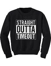Tstars - Straight Outta Timeout Funny Toddler/Kids Sweatshirts