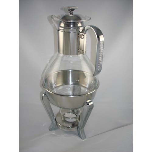 Unknown NC430-1 teapot-warmers, 13.5'', Silver by Unknown