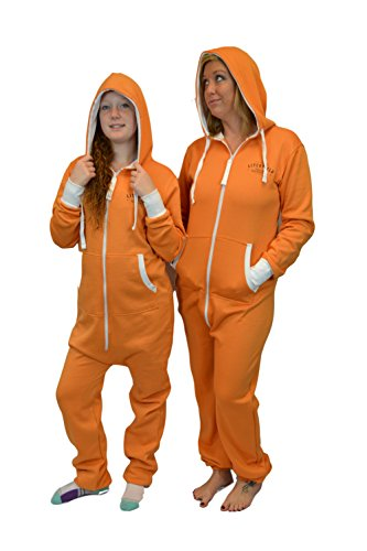 Orange is The New Black Prison Hoodie Jumpsuit Onesie -