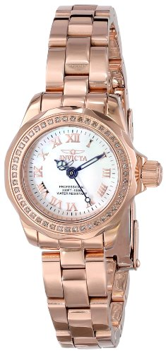 Invicta Women's 15521 Wildflower Analog Display Swiss Quartz Rose Gold Watch