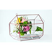 Wedding Bouquet Geometric Glass Card box Wedding box Wedding planner Bridesmaid Gift Wedding decor