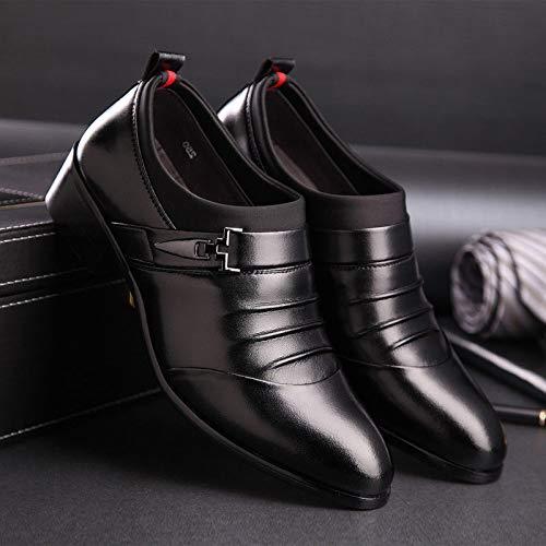 scarpe marea da WFL casual scarpe Nero scarpe Estate uomo scarpe aiuto da tendenza di uomo da basse uomo d'affari traspirante ww7RXE
