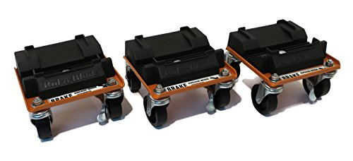 New Snow Plow - New Snow Plow / Blade ROL-A-BLADE Caster Dollie Set of 3 - EASY Storage & Moving