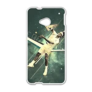 HTC One M7 Cell Phone Case White Roger Federer ivys