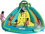 Little Tikes Rocky Mountain River Race Inflatable Slide Bouncer Multicolor, 161.00''L x 169.00'
