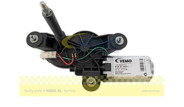 Vemo V24-07-0011 Motor del limpiaparabrisas: Amazon.es: Coche y moto