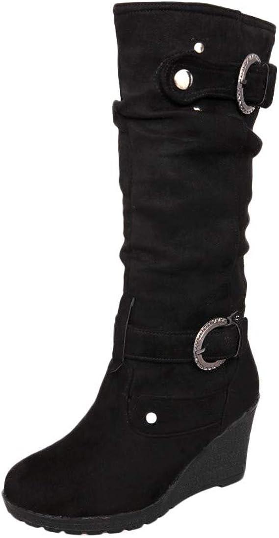 Chaussures Femmes Robemon♚Façon Hiver Compensées Chic iukTZPwOXl