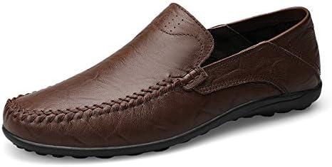 メンズファッションデザインソフトブランドローファーメンズシューズ夏のファッションピーズカジュアルシューズメンズパステルキャンバスソフト快適なマンシューズフラットシューズ男性の靴