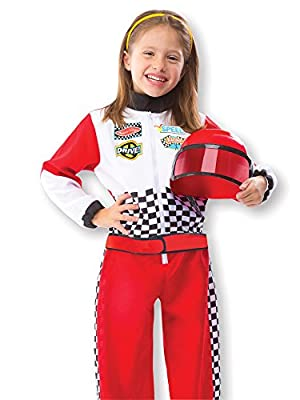 Race Car Driver Dress-up Set Costume for Kids