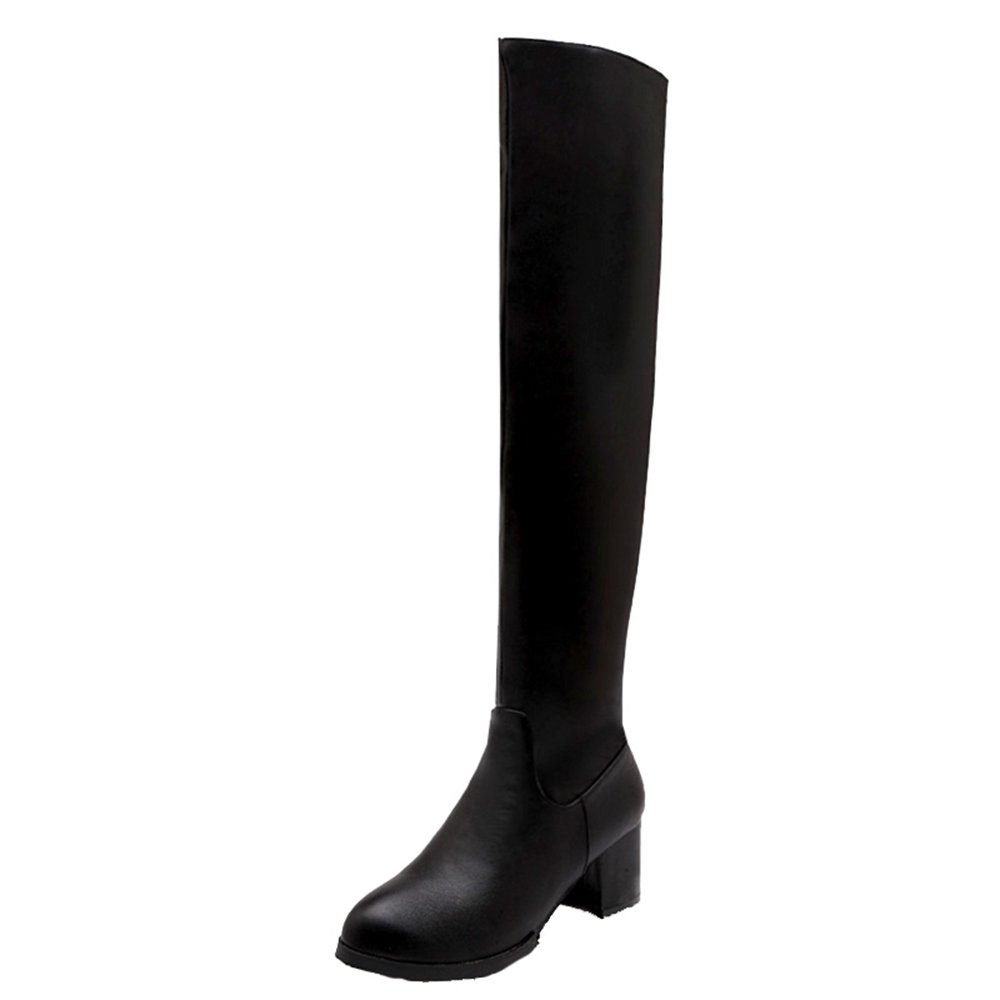 SJJH B078SX2SHY , Chelsea Boots Chelsea Femme Noir Noir cf42d69 - conorscully.space