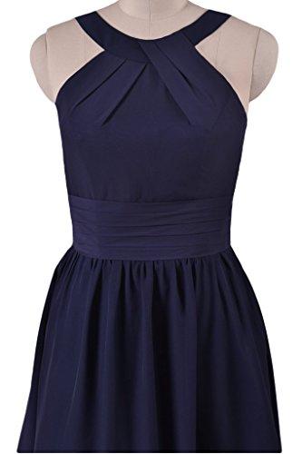 Dress Dark Length Scarlet 10 Knee Party DaisyFormals Dress BM253451 Chiffon Formal Halter wXvBnq6tO