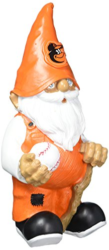 MLB Baltimore Orioles Version 2 Team Gnome Statue, One Size