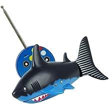Dreamyth RC Toy Powered Speed Radio Control Toys 2.4V 3CH Plastic Model RC Fish Outdoor