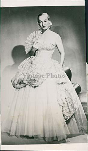 Vintage Photos Faye Emerson Ive Got A Secret Celebrity First Lady Television Actress Press Photo 4X8