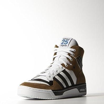 Adidas Originals Rivalry Hi Nigo Mens Trainers Sneaker M21516 White   Core  Black   Non-Dyed Size UK 7  Amazon.co.uk  Shoes   Bags de4df08385b6