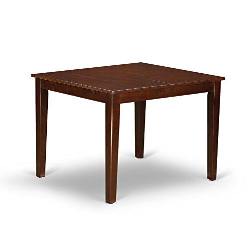 416BEF6glpL - East West Furniture NOFK5-MAH-C 5-Piece Kitchen Nook Dining Table Set