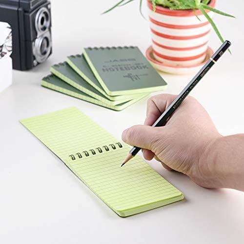 CADANIA Notizbuch, Tactical Notebook Allwetter Wasserdichtes Schreibpapier Notizbuch Militär im Freien Camping