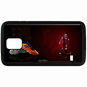 Personalized Samsung S5 Cell phone Case/Cover Skin Imaginative exclusive lionel messi fc barcelona lionel andres messi Black