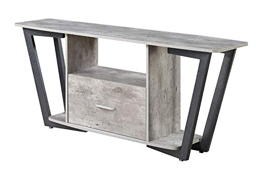 Convenience Concepts Graystone Stone TV Stand, 60