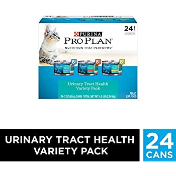 Purina Pro Plan Urinary Tract Health Wet Cat Food Variety Pack, FOCUS Urinary Tract Health Formula - (24) 3 oz. Cans