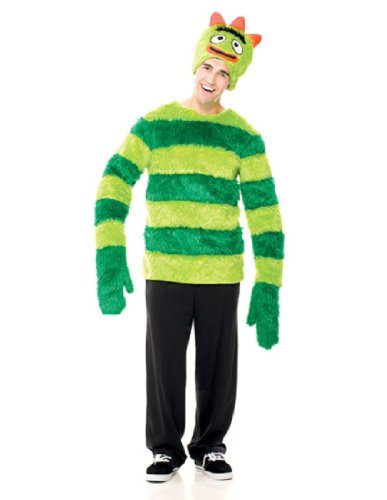 Paper Magic Group Yo Gabba Gabba Brobee, Green, Medium (Paper Magic Group Costumes)