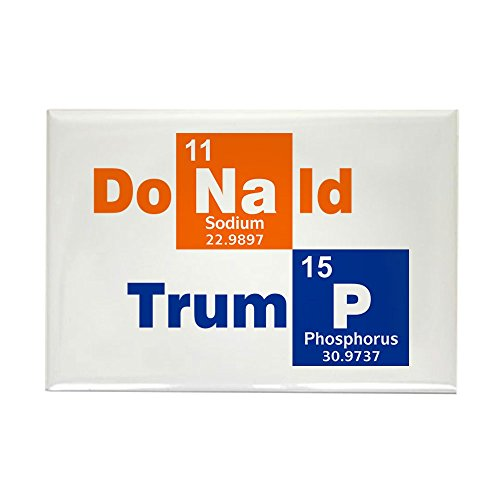 CafePress - Donald Trump 2016 Chemical Magnets - Rectangle Magnet, 2
